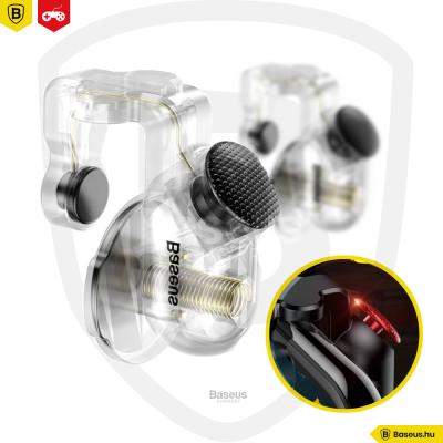 Baseus Red-Dot Game játékvezérlő okostelefonhoz - Átlátszó