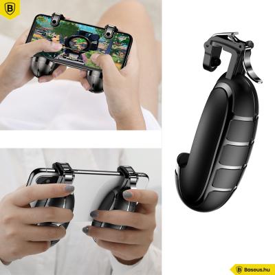 Baseus Gránát alakú kézi játékvezérlő okostelefonokhoz - Fekete
