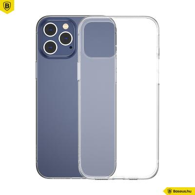 Baseus iPhone 12 Pro szilikon Simple tok - Átlátszó