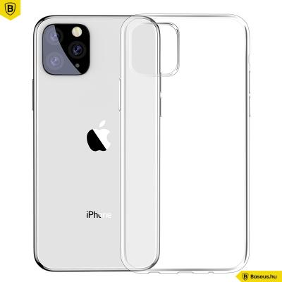 Baseus Simplicity iPhone 11 Pro Max 6.5 TPU tok - Átlátszó