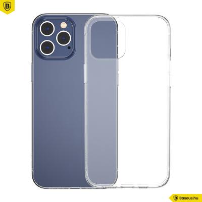 Baseus iPhone 12 Pro Max Simple szilikon tok - Átlátszó