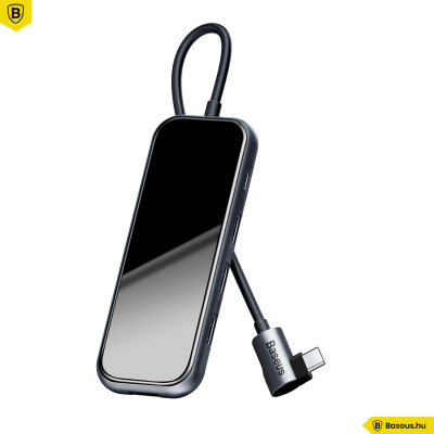 Baseus Multifunkciós HUB - USB-C típusú/4xUSB 2.0 csatlakozóval