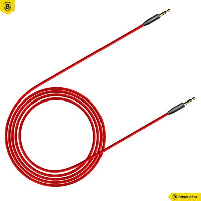 Baseus Audio kábel 1,5m Yiven M30 - Piros/Fekete