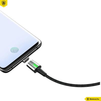 Baseus Zinc Type-C/USB-C/ mágneses adat/töltőkábel 1m 2,4A