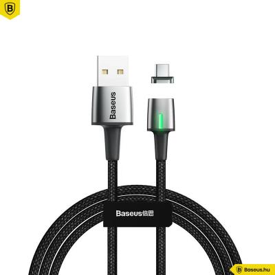 Baseus Zinc USB-C adat/töltőkábel mágneses csatlakozóval 2m 2A