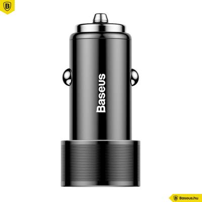 Baseus 2USB autós töltő 3,4A - Fekete