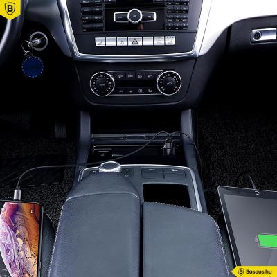 Baseus Magic Series 2USB autós töltő 6A/45W QC 3.0 gyors töltés