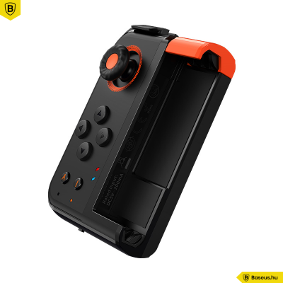 Baseus Gamo One-Handed vezeték nélküli játékvezérlő Gamepad - Fekete