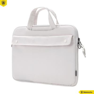 """Baseus Basics laptop táska 16""""-os - Fehér"""