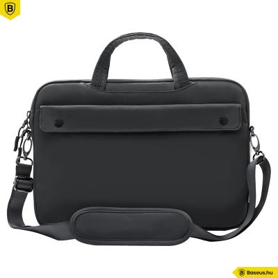 """Baseus Basics laptop táska 16""""-os - Sötét szürke"""