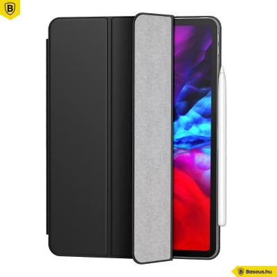 Baseus Simplism iPad Pro 11 (2020) mágneses bőr tok - Fekete