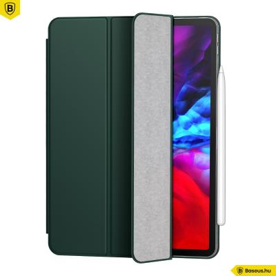 Baseus Simplism mágneses bőr tok iPad Pro 12.9 (2020) - Zöld