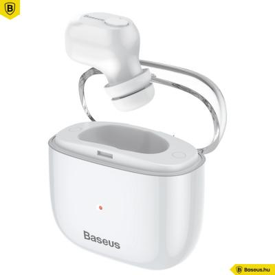 Baseus Vezeték nélküli Bluetooth fülhallgató headset Encok A03 - Fehér