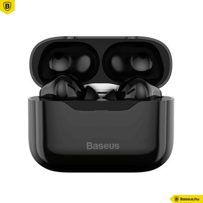 Baseus S1 TWS fülhallgató ANC-vel, Bluetooth 5.1 - Fekete