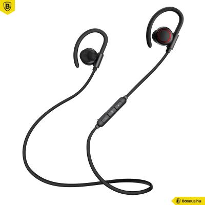 Baseus Sport fülhallgató/headset IPX5 vízálló Bluetooth 5.0 Encok S17 - Fekete