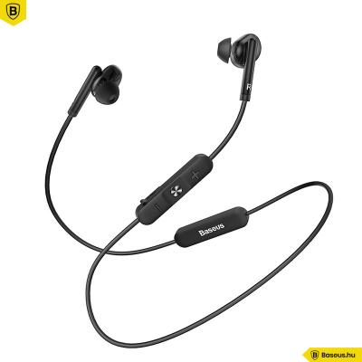 Baseus Encok S30 Bluetooth 5.0 Sport fülhallgató - Fekete