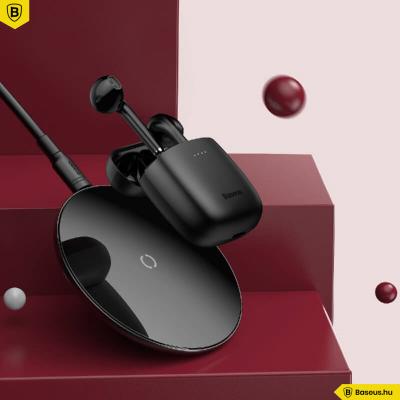 Baseus Encok True W04 vezeték nélküli fülhallgató BT 5.0 - Fekete