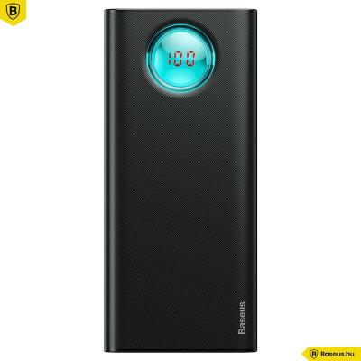 Baseus Amblight Powerbank 20000mAh gyors töltés QC3.0, PD3.0, 18W - Fekete