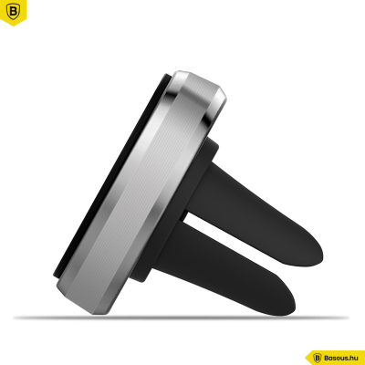 Baseus Mount mágneses autós telefontartó szellőzőrácsra - Ezüst/Fekete