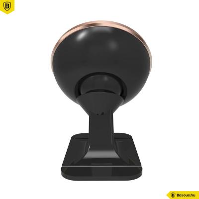 Baseus Strong Mágneses autós telefontartó műszerfalra - Rose Gold