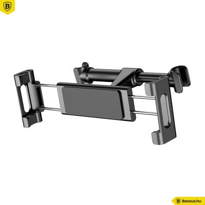 Baseus Bracket Univerzális autós tablet tartó fejtámlára - Fekete