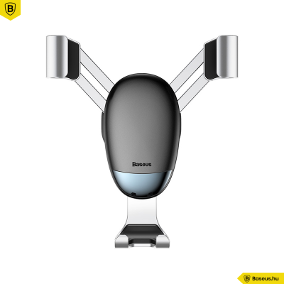 Baseus autós telefontartó szellőzőrácsra Mini Gravity - Ezüst