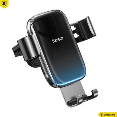 Baseus Glaze autós telefontartó szellőzőrácsra - Fekete