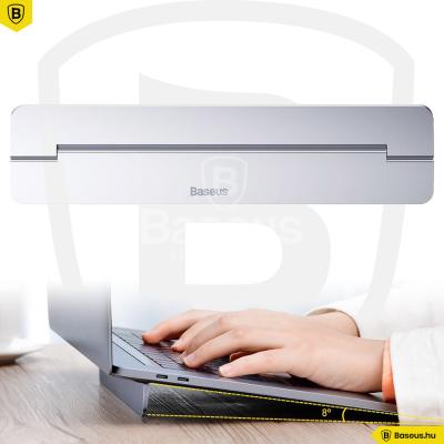 Baseus Papery MacBook és Laptop asztali tartó - Ezüst