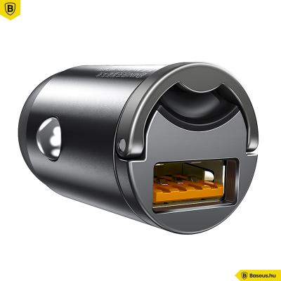 Baseus autós töltő Tiny Star PPS mini USB 30W QC 3.0 - Szürke