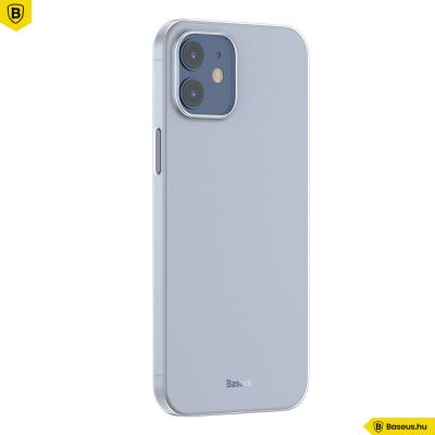 Baseus iPhone 12 Mini rugalmas Wing tok - Fehér