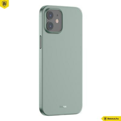 Baseus iPhone 12 Mini rugalmas Wing tok - Zöld