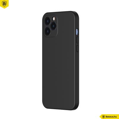 Baseus iPhone 12 Pro rugalmas gél tok  - Fekete