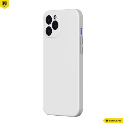 Baseus iPhone 12 Pro rugalmas gél tok  - Fehér