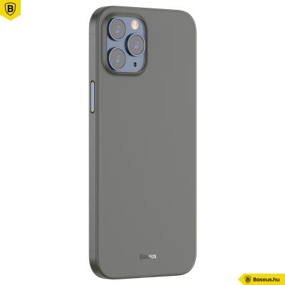 Baseus iPhone 12 Pro Max rugalmas Wing tok - Fekete
