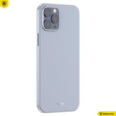 Baseus iPhone 12 Pro Max rugalmas Wing tok - Fehér