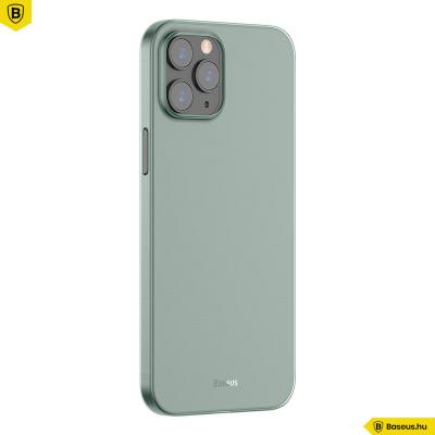Baseus iPhone 12 Pro Max rugalmas Wing tok - Zöld