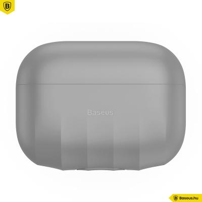 Baseus Airpods Pro Shell szilikon tok - Szürke