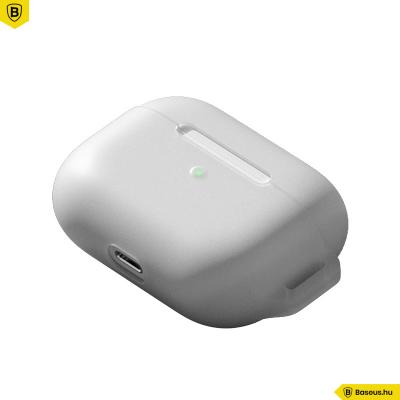 Baseus Lets go szilikon Airpods Pro védőtok - Fehér