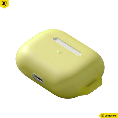 Baseus Lets go szilikon Airpods Pro védőtok - Sárga
