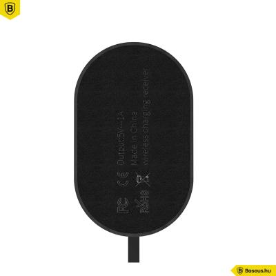 Baseus Microszálas iPhone Lightning wireless adapter - Fekete