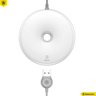 Baseus Donut wireless vezeték nélküli gyorstöltő - Fehér